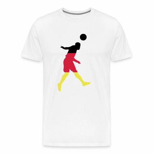 ► Kopfball Boy Deutschland, Russland & alle Farben - Männer Premium T-Shirt