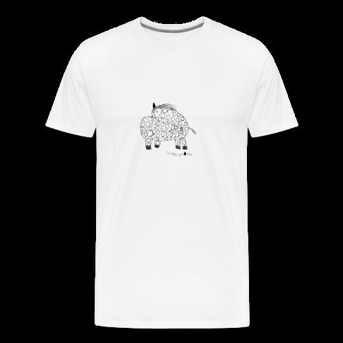 schweinhorn shop - Männer Premium T-Shirt
