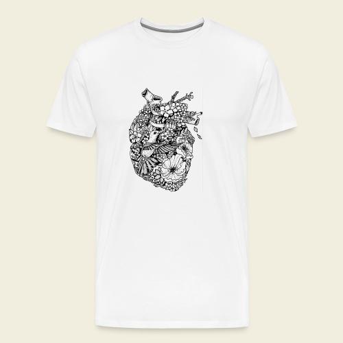 Kolibri Herz - Männer Premium T-Shirt