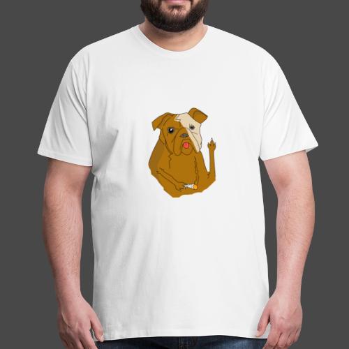 Smokey the Dog - Men's Premium T-Shirt