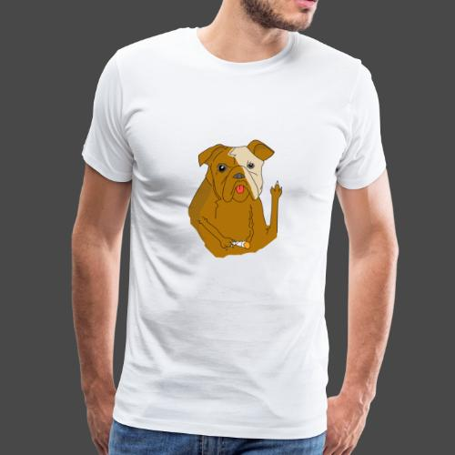 Smokey the Dog - Men's Premium T-Shirt