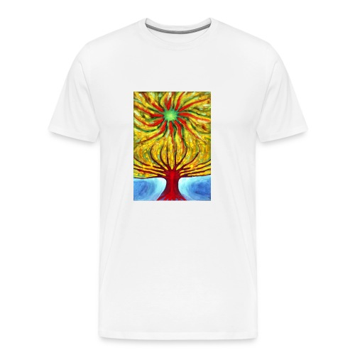 Green Sun - Koszulka męska Premium