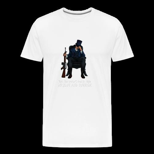 MrBlue's New World - Men's Premium T-Shirt
