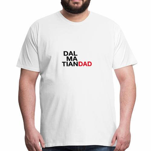 Dalmatian Dad - Premium-T-shirt herr