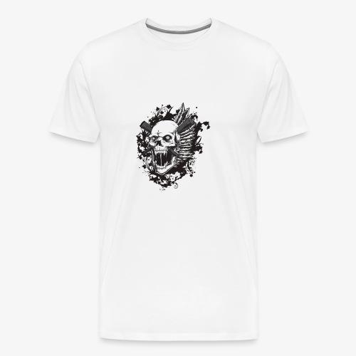 Schädel Schädel - Männer Premium T-Shirt