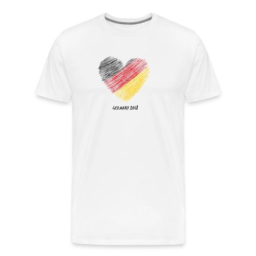Fußball WM – Deutschland-Shirt - Männer Premium T-Shirt