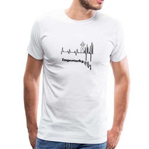 Imperturbable devant lui … - T-shirt Premium Homme