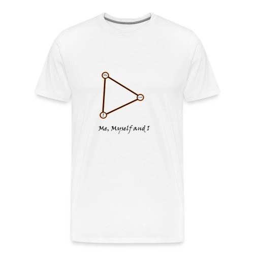 Me, Myself and I naranja - Camiseta premium hombre