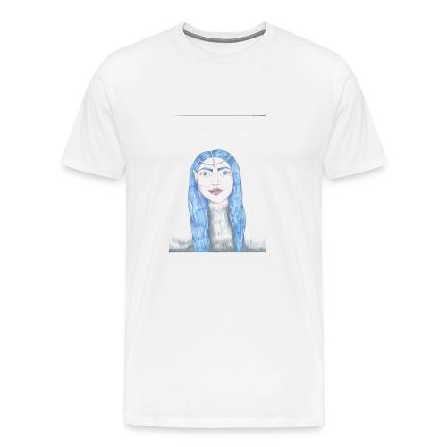 Blue girl - Premium-T-shirt herr