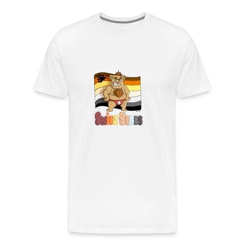 Switz'Bears logo complet - T-shirt Premium Homme
