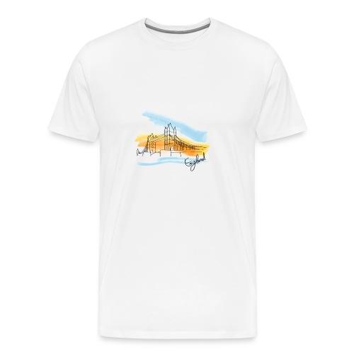 Inghilterra disegno - Maglietta Premium da uomo