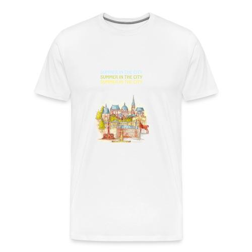 AACHEN Summer in the city - Männer Premium T-Shirt