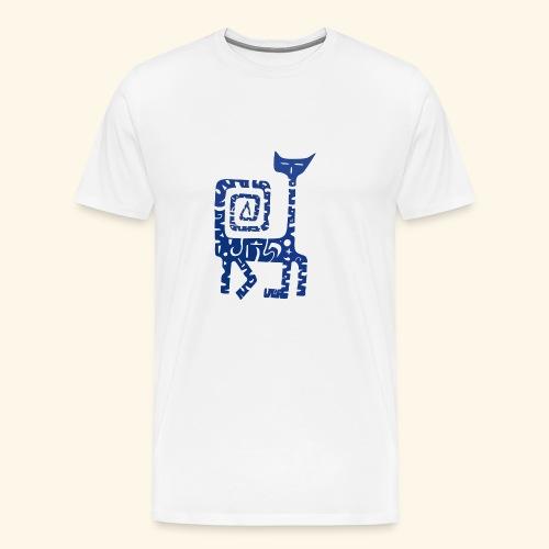 Gato Espiral - Camiseta premium hombre