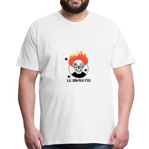 logo mat - T-shirt Premium Homme