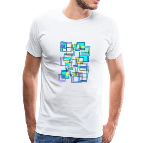 quadrati magici - Maglietta Premium da uomo