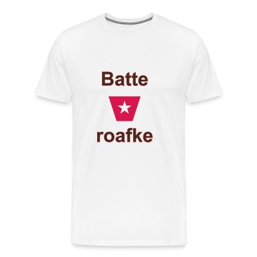 Batteraofke w1 tp vert b - Mannen Premium T-shirt