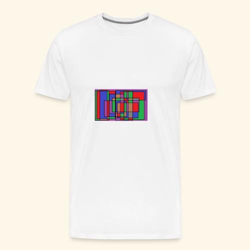 qwe art - Premium-T-shirt herr