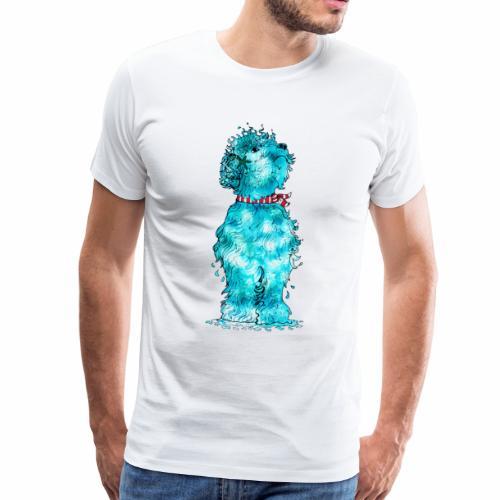 Hund aus dem Meer - Männer Premium T-Shirt