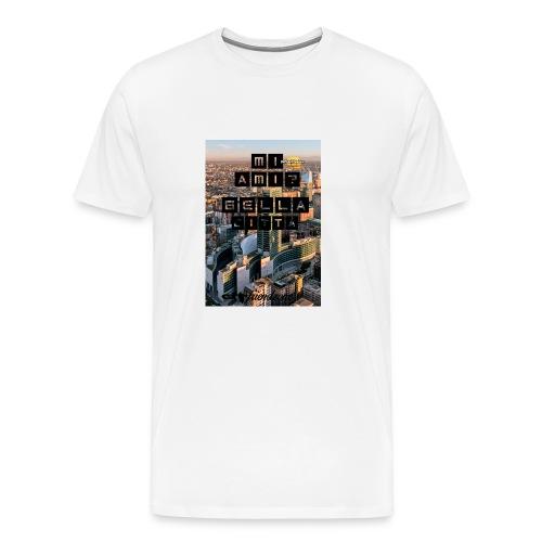 cover iphone4/4s friendzone - Maglietta Premium da uomo
