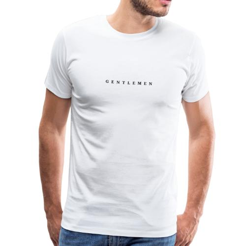 Gentlemen - Männer Premium T-Shirt