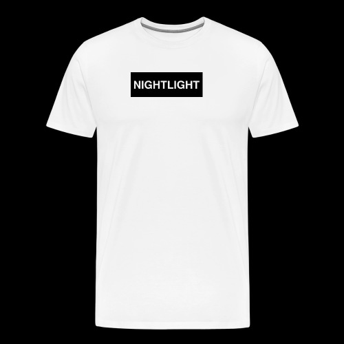 NIGHTLIGHT BOX LOGO (NIGHT) - Men's Premium T-Shirt