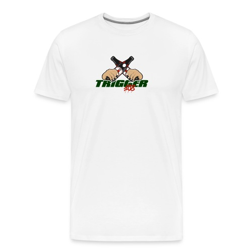 Trigger Grün großes Logo - Männer Premium T-Shirt