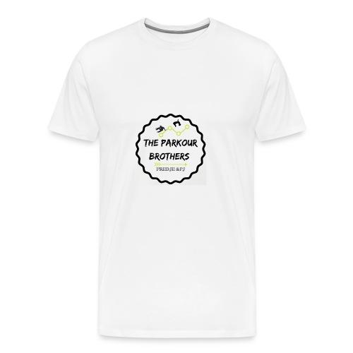 the_brothers_parkour - Mannen Premium T-shirt