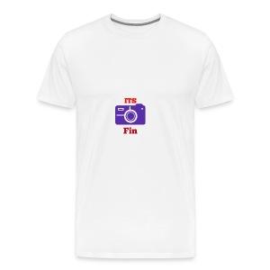 The logo stretch - Men's Premium T-Shirt