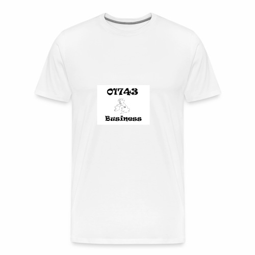 01743 Business - Men's Premium T-Shirt