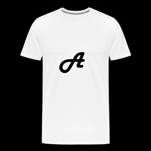 Ein Logo Swarz Weiss - Männer Premium T-Shirt