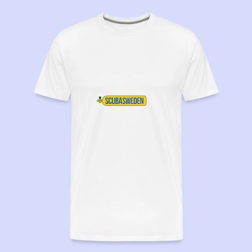 scubasweden logo - Premium-T-shirt herr