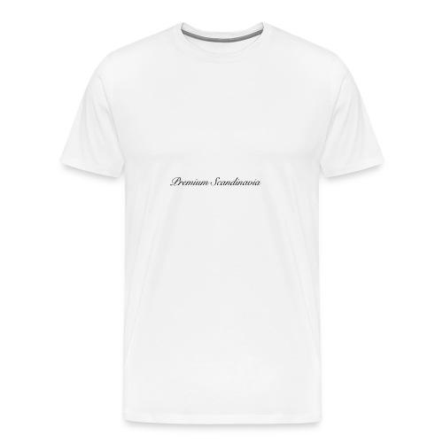 Premium Scandinavia Deksel 4/4S - Premium T-skjorte for menn