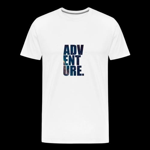 Adventure 5s Premium - Premium T-skjorte for menn