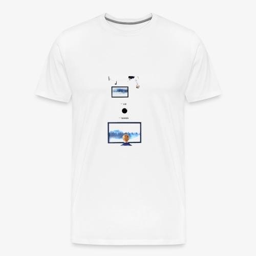 Lie, MAMA - T-shirt Premium Homme