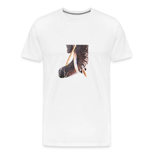 Olifantenslurf - Mannen Premium T-shirt