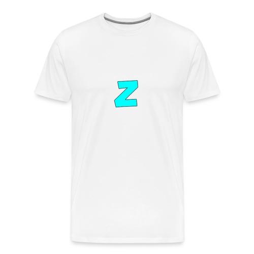 logo_p--_Kl--r_2-png - Premium T-skjorte for menn