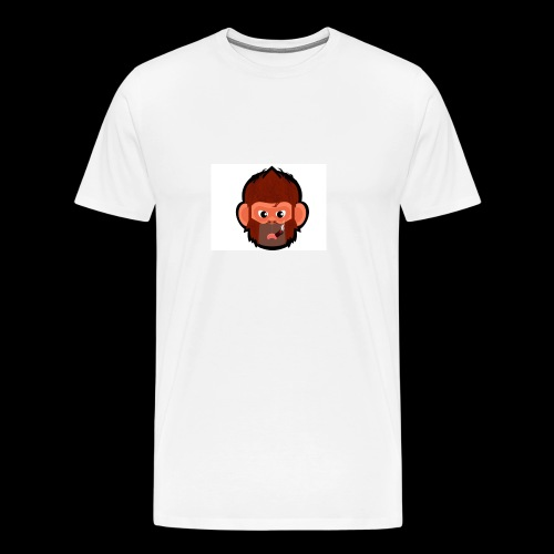 pogo clan Buttons & badges - Herre premium T-shirt