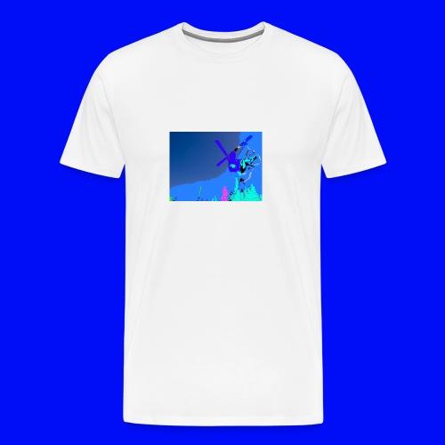 twintip - Premium T-skjorte for menn