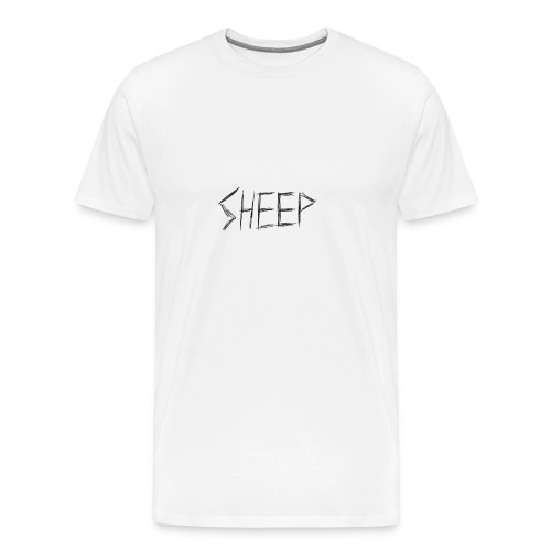 sheep. - Men's Premium T-Shirt