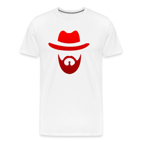 logo izicron rouge - T-shirt Premium Homme