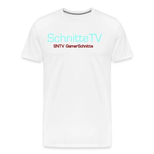 SchnitteTV SNTV GamerSchnitte - Männer Premium T-Shirt