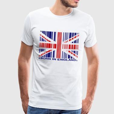 Nato in Inghilterra - Maglietta Premium da uomo