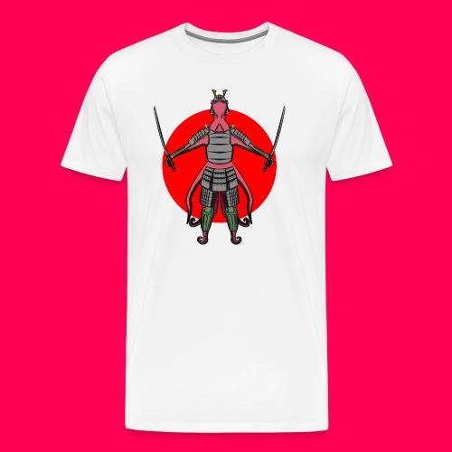 Octopus Samurai - Camiseta premium hombre
