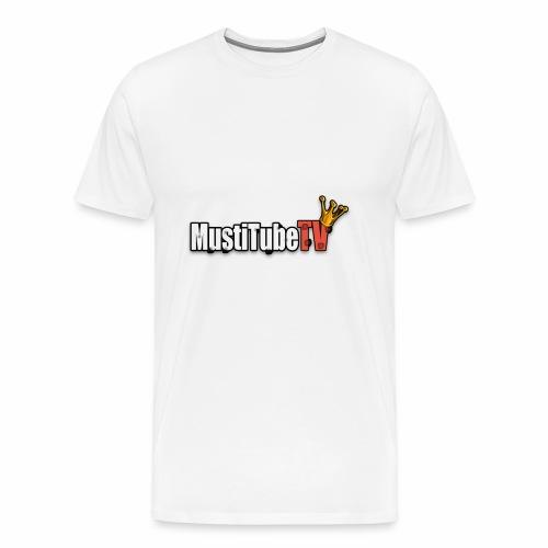 MustiTubeTV - Premium-T-shirt herr