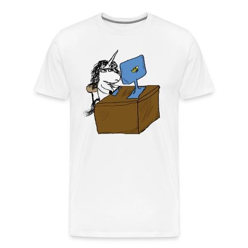 Unicorn Godin - Men's Premium T-Shirt