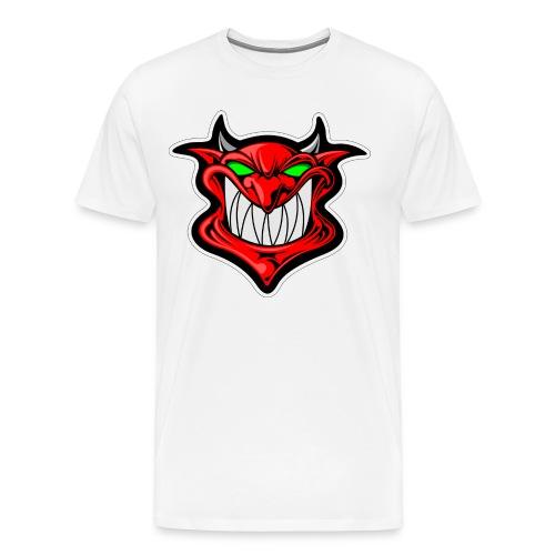 Grinning Devil - Männer Premium T-Shirt