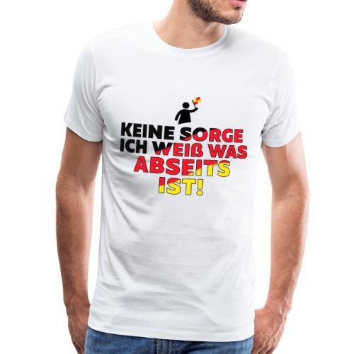 Weltmeisterschaft 2018 Ich weiß was Abseits ist - Männer Premium T-Shirt