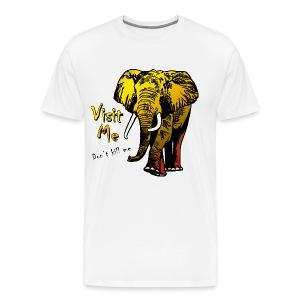 Visit Me - Männer Premium T-Shirt