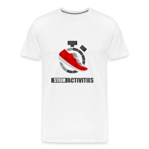 Steemactivities - T-shirt Premium Homme