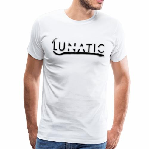 Lunatic Official logo White - T-shirt Premium Homme